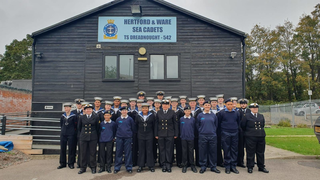 T S Dreadnought Hertford and Ware Sea Cadets